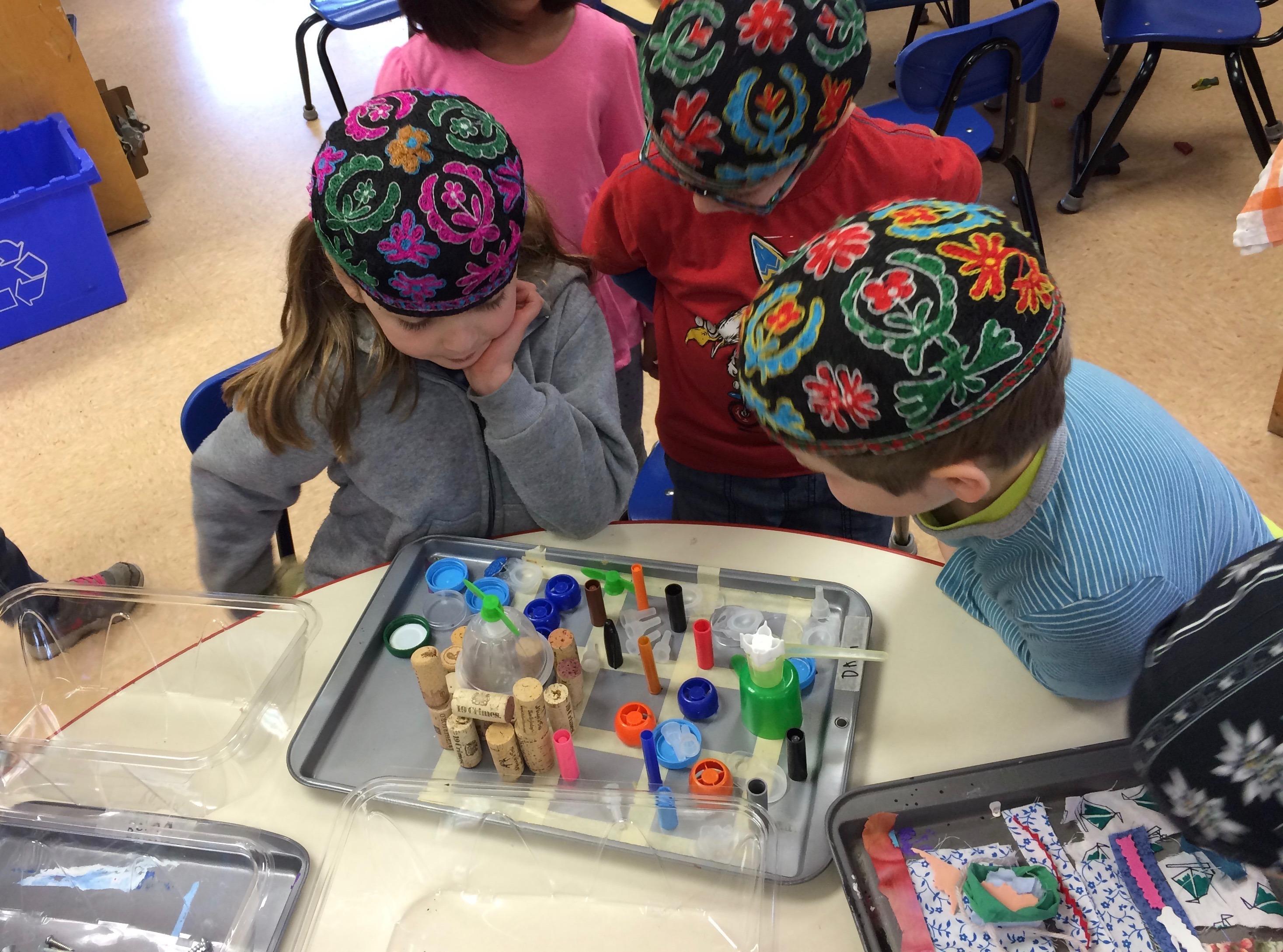 Creating a Mishkan in Kindergarten