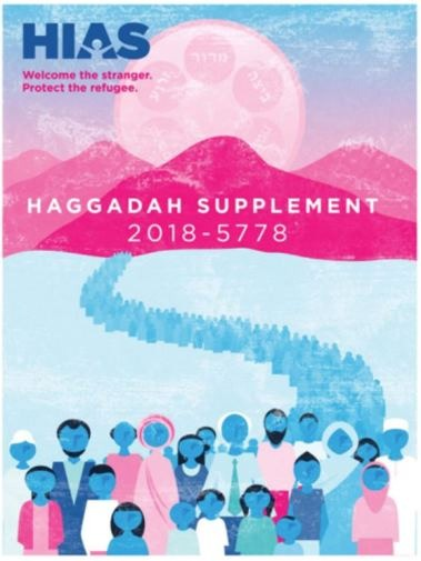 The Seder Plate and Today's Refugees:HIAS Offers Haggadah Supplement