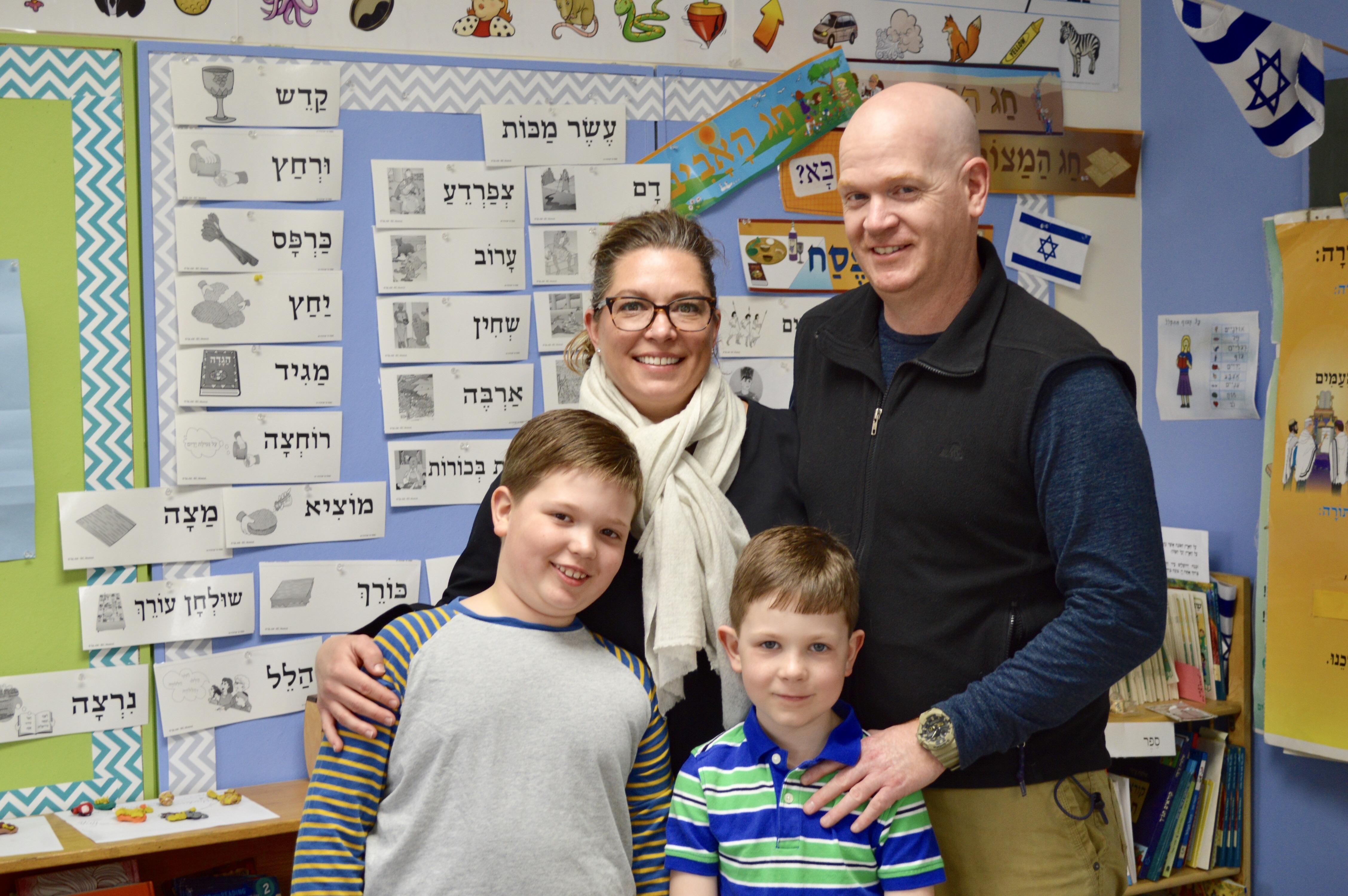 Interfaith Families Thrive at Jewish Day School